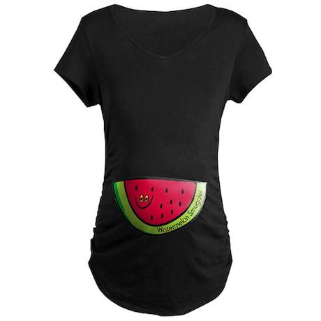 Watermelon Smuggler Maternity Dark T-Shirt