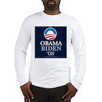 """Obama-Biden 2008"" Long Sleeve T"