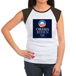 """Obama-Biden 2008"" Women's Cap Sleeve T"