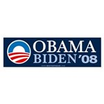 """Obama-Biden 2008"" Bumper Sticker (10)"