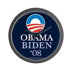 """Obama-Biden 2008"" Wall Clock"