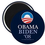 """Obama-Biden 08"" 2.25"" Magnet (100)"