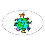 Animal Planet Rescue Sticker (Oval 50 pk)