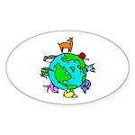 Animal Planet Rescue Sticker (Oval 50 pk)