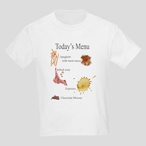 Skuzzo Italian Food Stain Kids T-Shirt