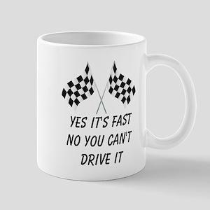 Race Car Driver Mug