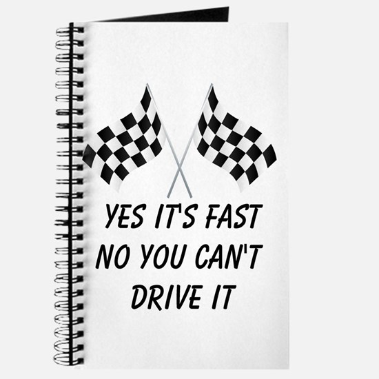 Race Car Driver Journal