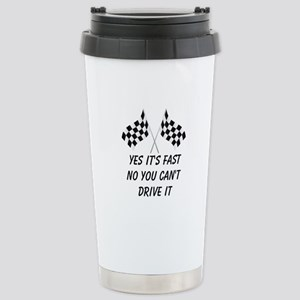 Race Car Driver Stainless Steel Travel Mug
