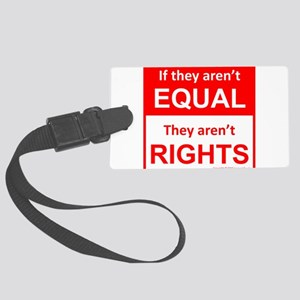 equal rights square v 2 Luggage Tag
