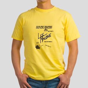 Lee Malone Yellow T-Shirt