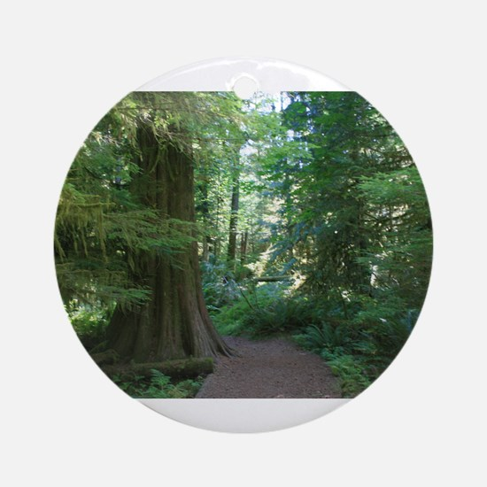 Cathedral Grove Ornament (Round)
