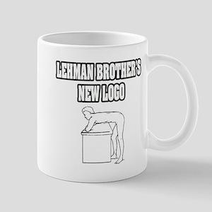 """Lehman Brother's New Logo"" Mug"