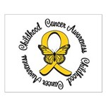 ChildhoodCancerButterfly Small Poster