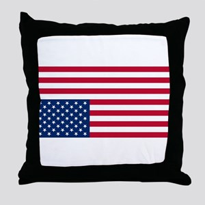 Inverted American Flag (Distress Signal) Throw Pil