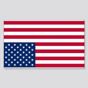 Inverted American Flag (Distress Signal) Sticker (