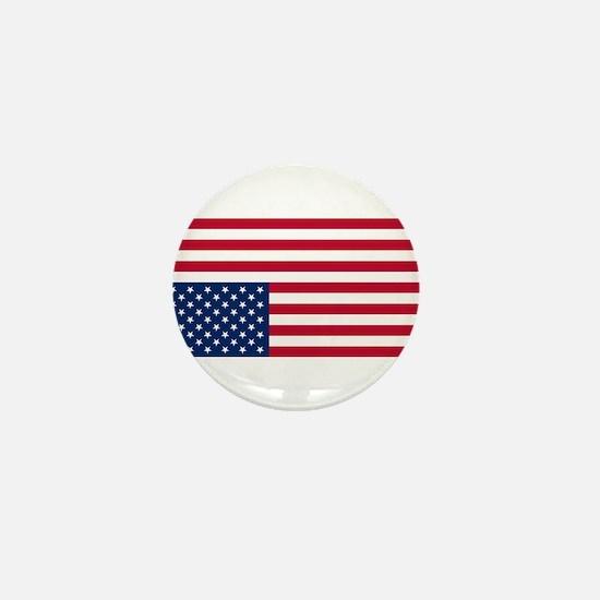Inverted American Flag (Distress Signal) Mini Butt