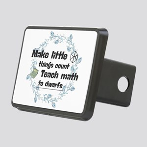 Make little things count. Rectangular Hitch Cover