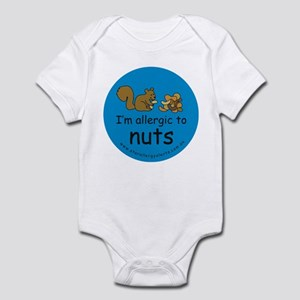 I'm allergic to nuts-squirrel Infant Bodysuit