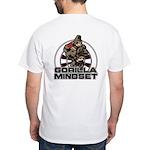 Gorilla Mindset White T-Shirt
