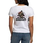 Gorilla Mindset Women's Classic White T-Shirt