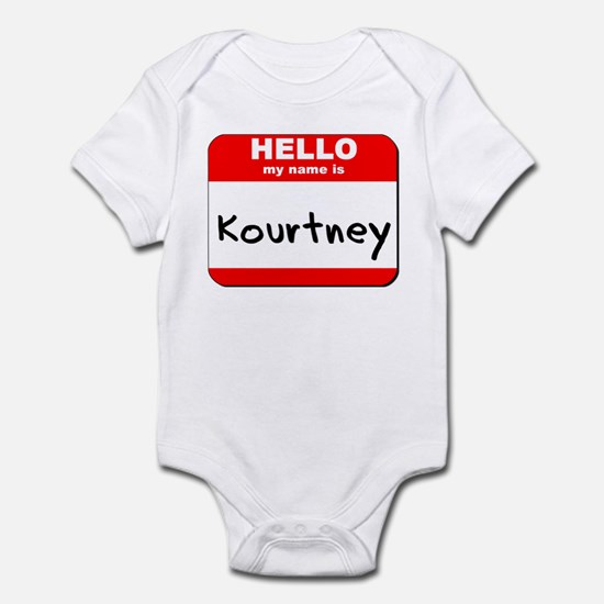Hello my name is Kourtney Infant Bodysuit