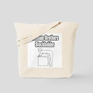 """Lehman Brothers Stockholder"" Tote Bag"