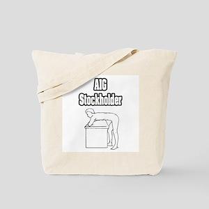 """""""AIG Stockholder"""" Tote Bag"""