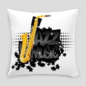 Jazz Everyday Pillow
