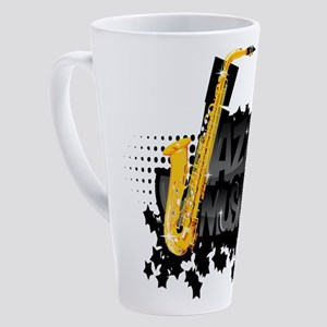 Jazz 17 oz Latte Mug