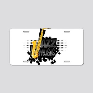 Jazz Aluminum License Plate