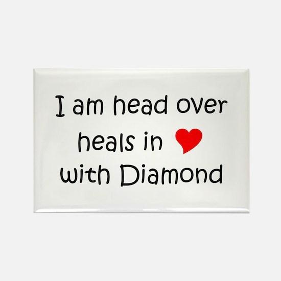 Diamond head Rectangle Magnet
