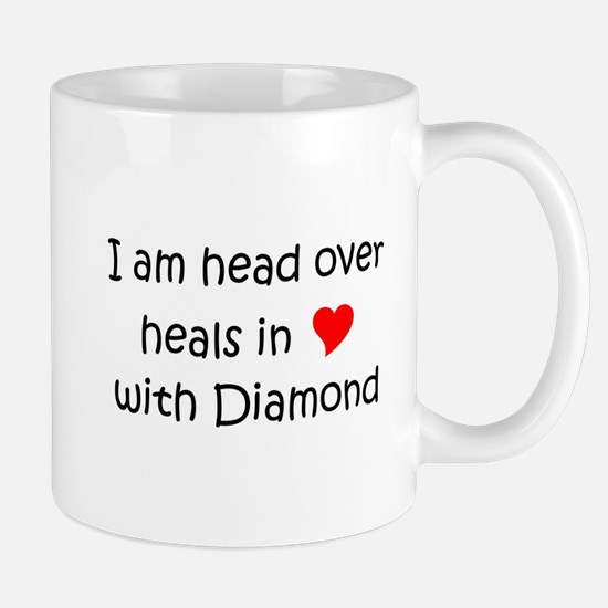 Cute Diamond head Mug