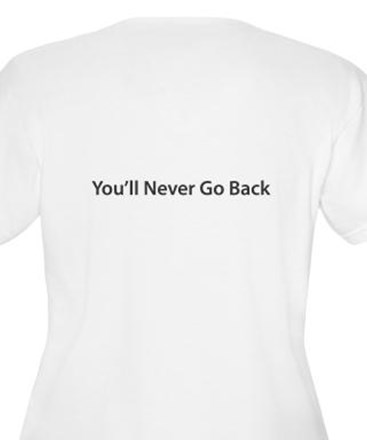 Once You Go Mac (front/back) T-Shirt