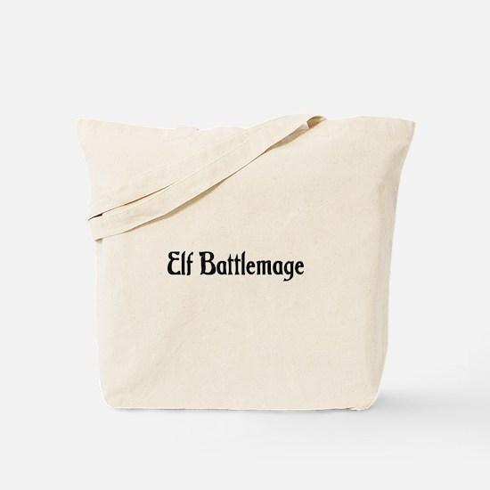 Elf Battlemage Tote Bag