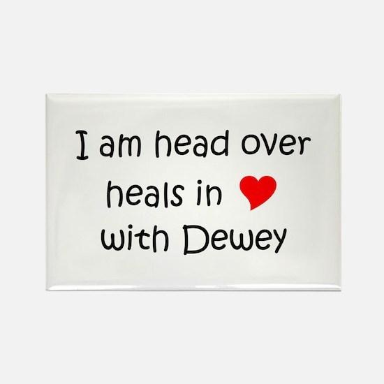 Unique Dewey Rectangle Magnet