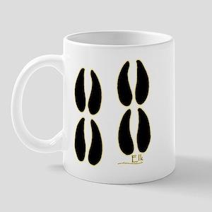 Elk Tracks Design Mug