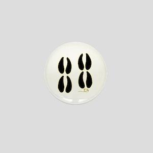 Elk Tracks Design Mini Button