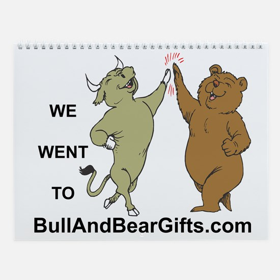 Design Samples II Bull and Bear Wall Calendar