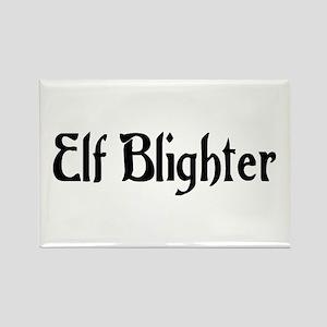 Elf Blighter Rectangle Magnet