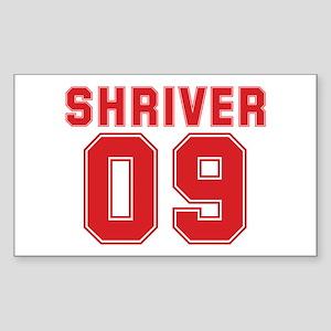 SHRIVER 09 Rectangle Sticker