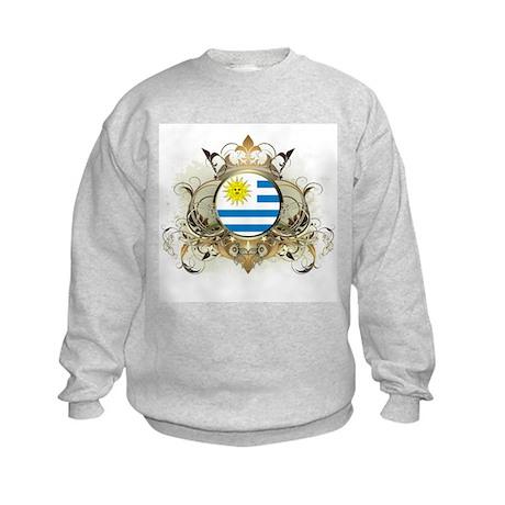 Stylish Uruguay Kids Sweatshirt