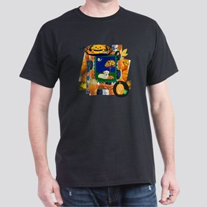 Scrapbook Yellow Lab Dark T-Shirt