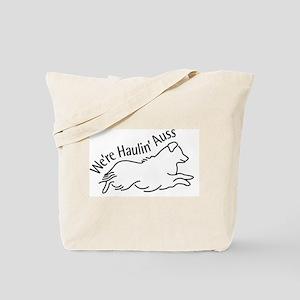 We're Haulin' Auss Tote Bag