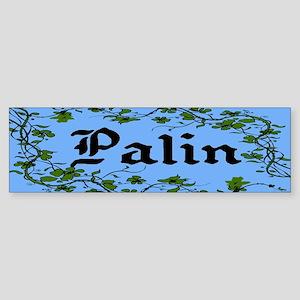 Palin Climbing Ivy Unique Bumper Sticker