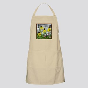 Yellow Coneflowers BBQ Apron
