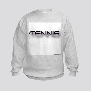 tennis black zh Kids Sweatshirt