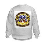 USS BRISTOL COUNTY Kids Sweatshirt