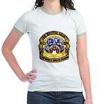 USS BRISTOL COUNTY Jr. Ringer T-Shirt