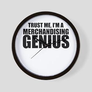 Trust Me, I'm A Merchandising Genius Wall Cloc