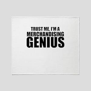 Trust Me, I'm A Merchandising Genius Throw Bla